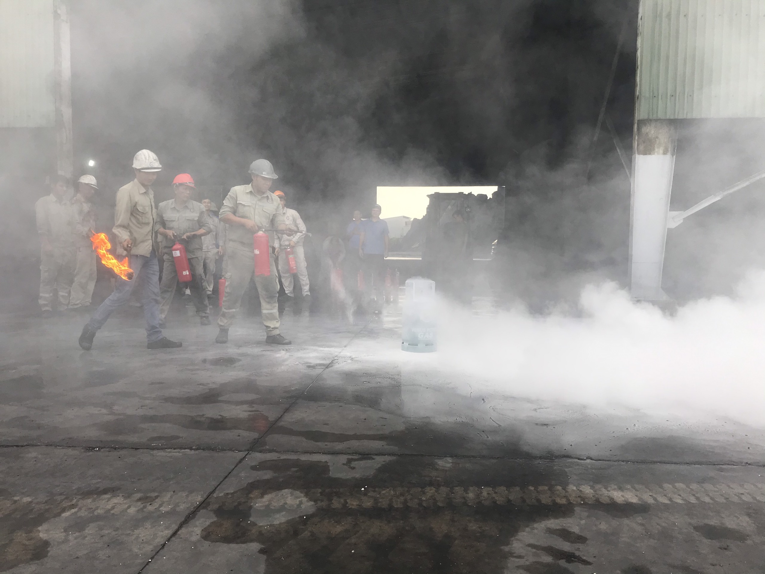 NHQ ORGANIZED THE TRAINING AND CERTIFICATION FOR LOCAL FIRE PREVENTION AND FIGHTING TEAM